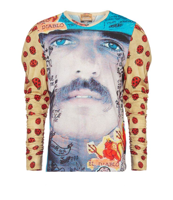 VIVIENNE WESTWOOD Diablo T-Shirt. #viviennewestwood #cloth #