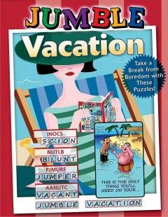 Jumble Vacation (GAME BOOK)--Puzzle enthusiasts can take a break from the monotony of their daily routines by sitting back, sipping a cool drink, and immersing themselves in this new collection of relaxing and entertaining Jumble puzzles. For more than 40 years, millions of newspaper readers have delighted in solving Jumble®, which appears in hundreds of national papers and in these puzzle books that offer hours of challenging wordplay and fun.