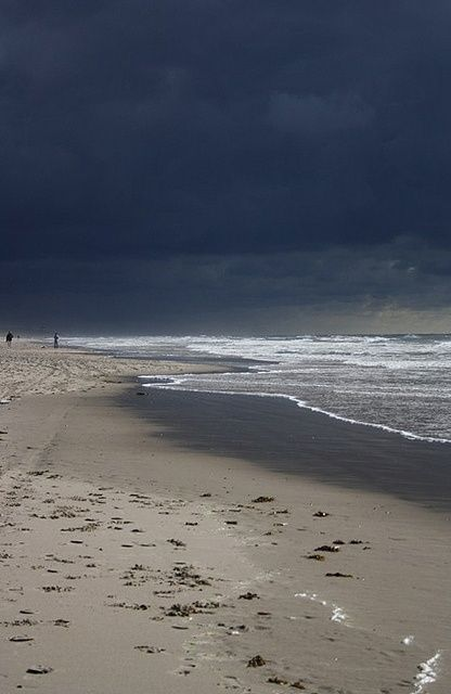 Schoorl, the Netherlands...the north sea before a storm #visitholland