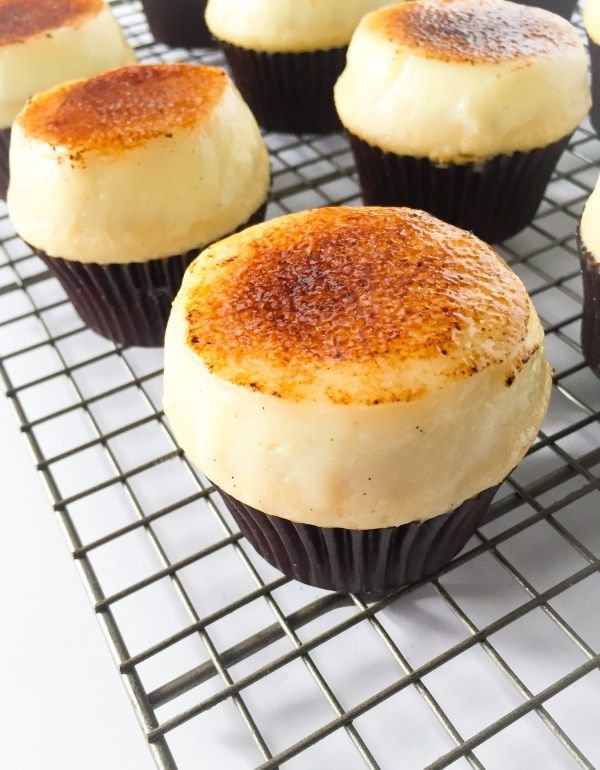 Creme Brulee Cupcakes