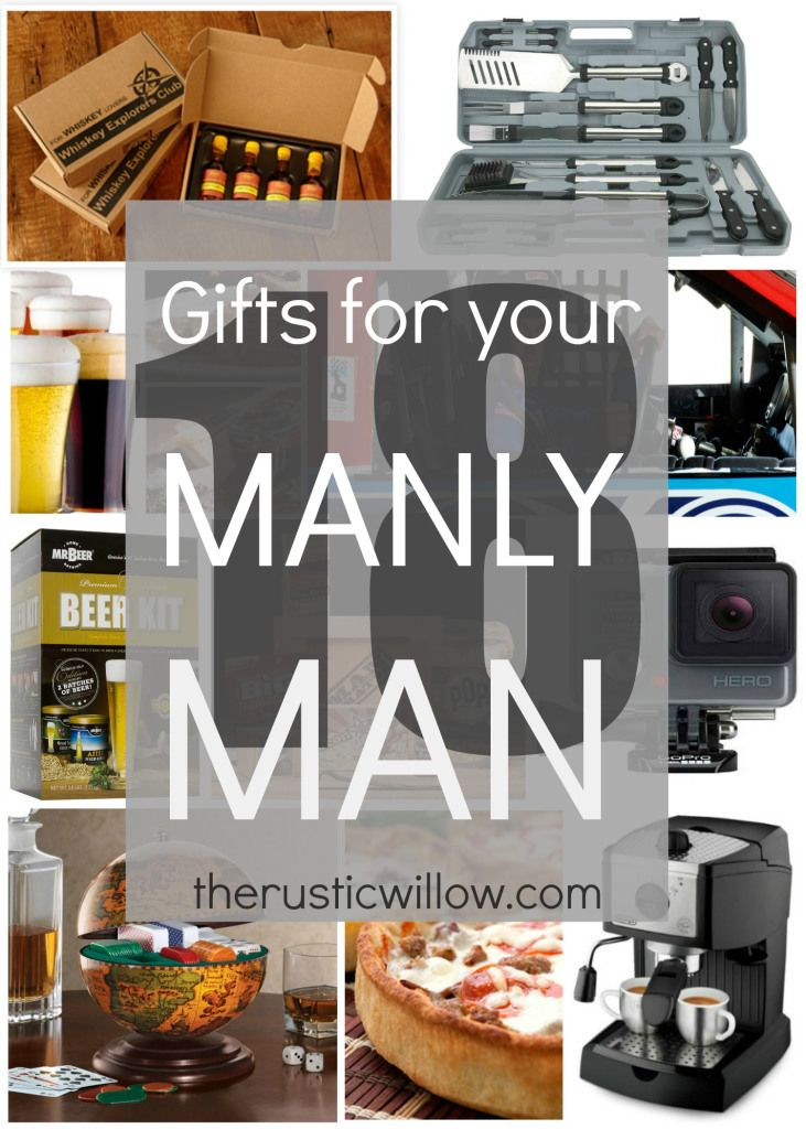 Gift Guide for Men: The Gifts Men Actually Want | therusticwillow.com
