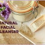 Homemade Natural Facial Cleanser for All Skin Types #naturalfacialcleanser #facialcleanserhomemade