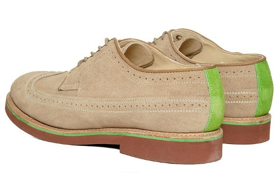 SOPHNET. x Walk-Over Shoes – Brogue Wingtip