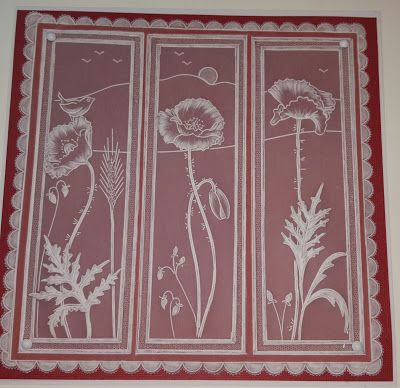 Linda's Hand Made Cards: Claritystamp challenge 35 - Say it with flowers