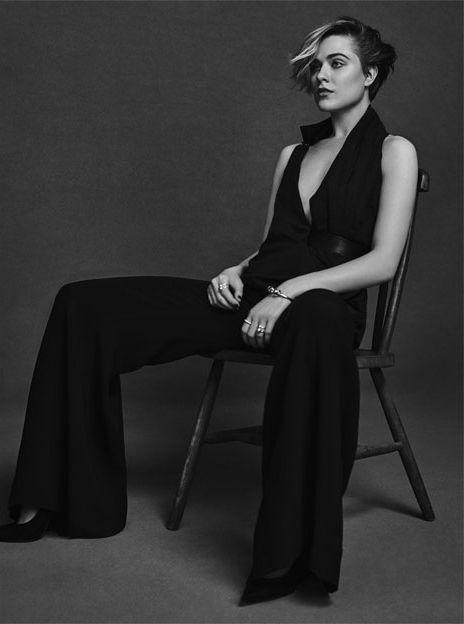 Evan Rachel Wood in The Edit by Net-A-Porter