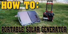 How to Build a DIY Portable Solar Generator. What parts you need and why you need them, all explained in plain English. I also explain how to...
