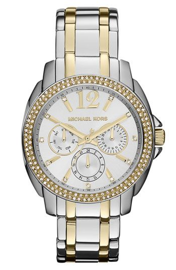 Michael Kors 'Cameron' Round Bracelet Watch available at #Nordstrom