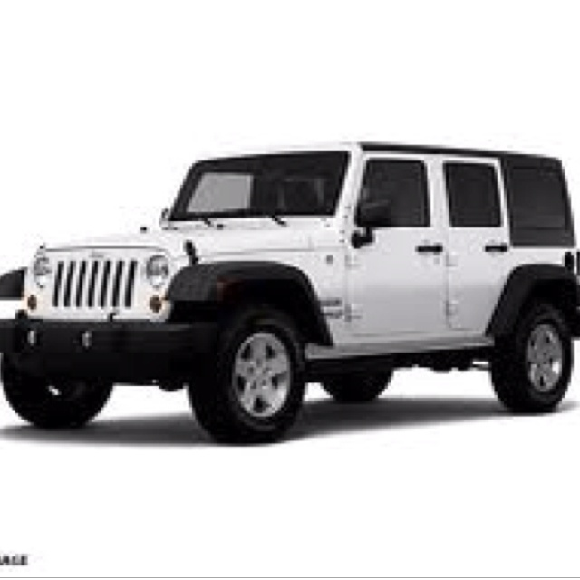 Mama will have her own, soon :)  Jeep Wangler 2012 4 door