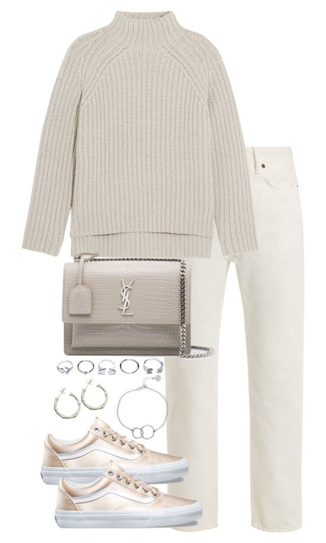 """""""Untitled #5356"""" by theeuropeancloset on Polyvore featuring Acne Studios, Theory, Yves Saint Laurent, GUESS, Chupi and Dinny Hall"""
