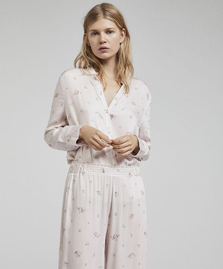 Oysho - Mini floral print trousers