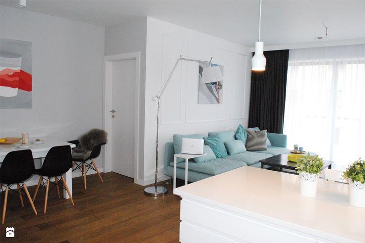 mieszkanie w Krakowie - zdjęcie od Threedom pracownia projektowa - Jadalnia - Styl Nowoczesny - Threedom pracownia projektowa