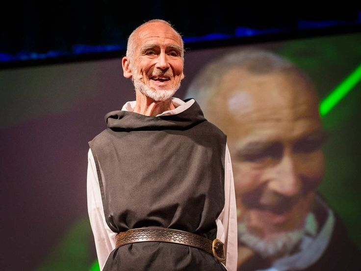 "David Steindl-Rast: Want to be happy? Be grateful | Video on TED.com  Brother David Steindl-Rast, a Benedictine monk, meditates and writes on ""the gentle power"" of gratefulness."