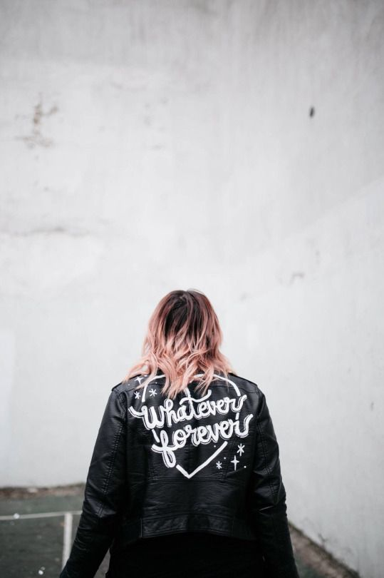 etsyfindoftheday | 7.9.16  customized leather jacket by banannabones  this listing is unique in that you provide your own jacket, and then banannabones will customize it for you so it's WAY. MORE. RAD.