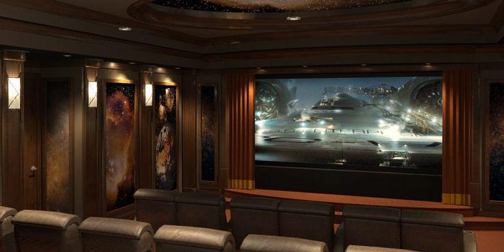 31 best smart home cinema images on pinterest cinema for Entertainment bar for home
