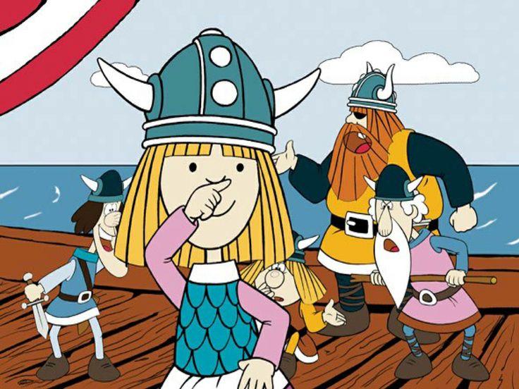 De Vikingen waren zeevarende Noormannen die leefden rond het jaar 800 in Scandinavië.  Vaak wordt gedacht dat alle Vikingen woeste plunderaars waren, in werkelijkheid waren het vooral handelaars. Een ander misverstand is dat het allemaal mannen waren. Er waren ook veel vrouwelijke Vikingen. Ik ben in Ribe in het Viking museum geweest.