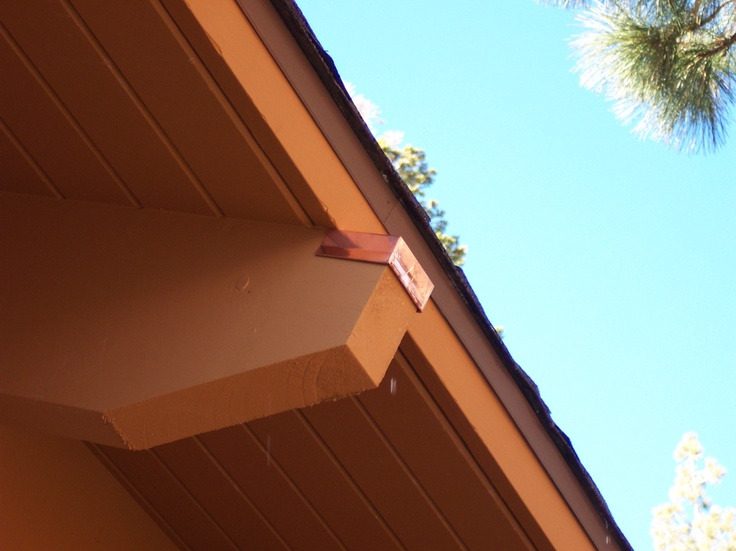 Copper Beam Caps To Protect Your Exposed Beams Copper