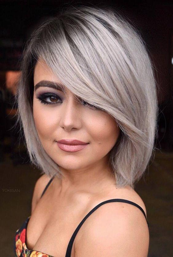 Top Bob Haircut Straight Hair For Fashion 2020 Hair Styles Square Face Hairstyles Thick Hair Styles