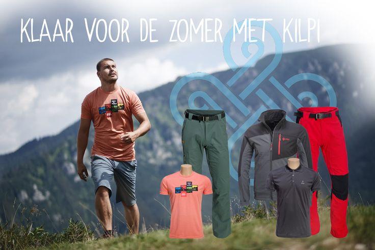 Klaar voor de zomer met de #Kilpi summer collectie. Leuke outfits met technische kwaliteit voor een zonnig prijsje!  http://www.skiwebshop.nl/outdoor-lifestyle/merk/kilpi