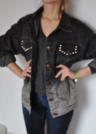 Kaufe meinen Artikel bei #Kleiderkreisel http://www.kleiderkreisel.de/damenmode/jeansjacken/116749656-graue-jeans-jacke