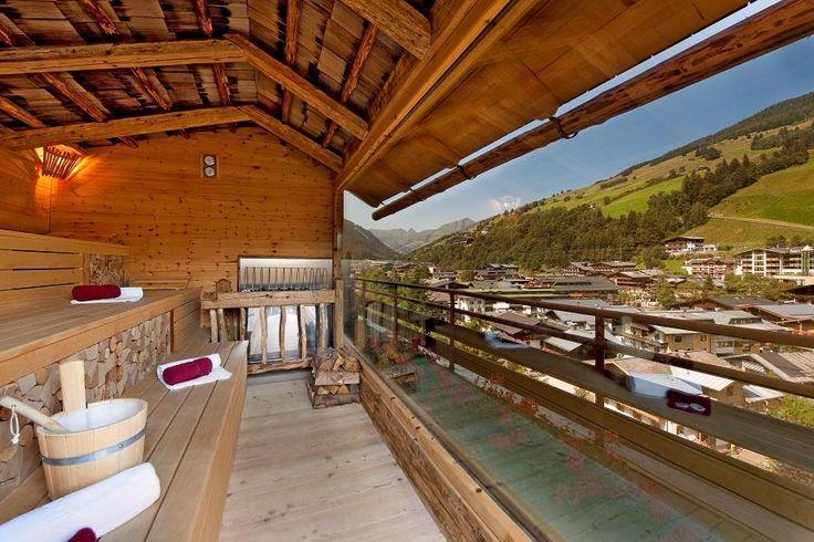 Panorama Sauna Wellness & Spa Hotel Alpin Juwel Saalbach Hinterglemm