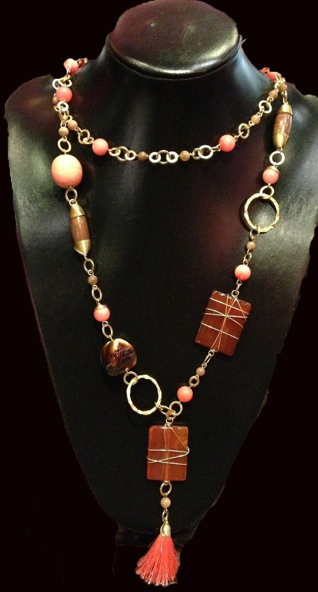 1000 images about collares largos on pinterest boho for Piedras naturales