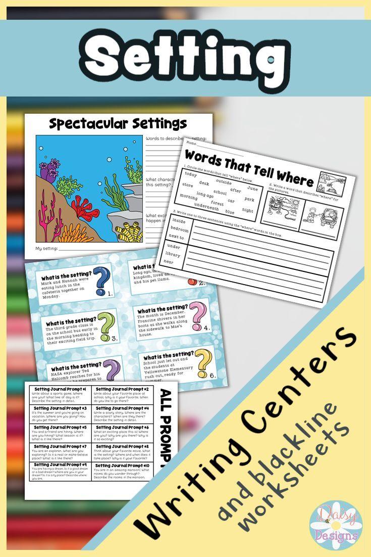 Narrative Writing Setting In 2021 Narrative Writing Kindergarten Writing Activities Third Grade Writing Activities [ 1102 x 735 Pixel ]