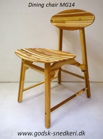 Dining chair MG14  Made by Martin Godsk