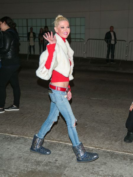 Tara Reid is seen arriving at 86th Annual Hollywood Christmas Parade.