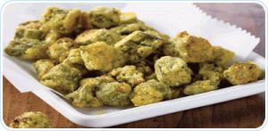 Oven-Fried Okra - A heart healthy recipe.