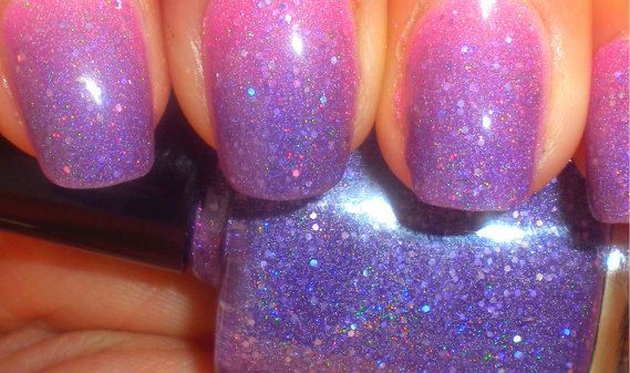 """Color Changing Thermal Nail Polish - """"ECHO"""" - Temperature Changing - Custom Blended Polish/Lacquer - 0.5 oz Full Sized Bottle on Etsy, $8.50"""