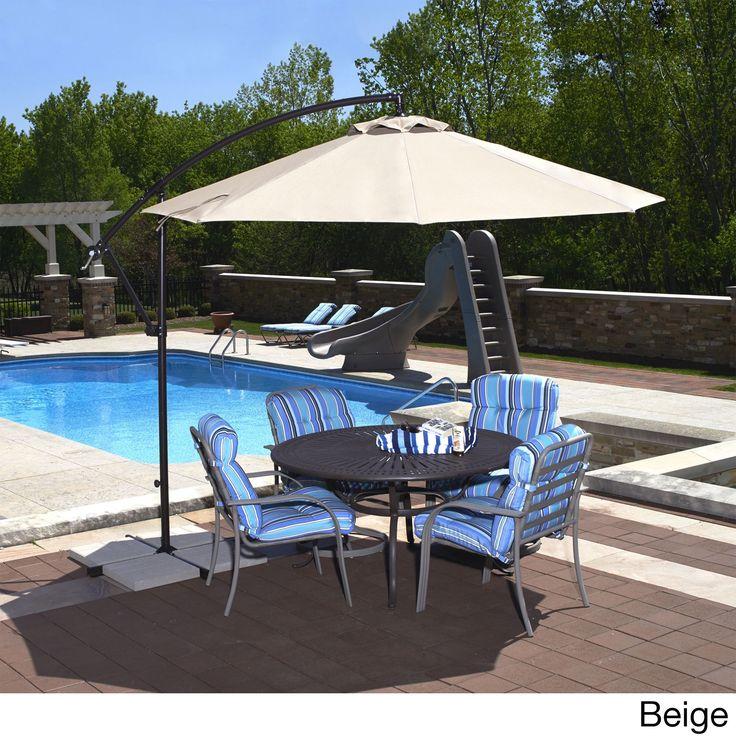 Die Besten Cantilever Umbrella Ideen Auf Pinterest - Coolaroo 10 foot round cantilever freestanding patio umbrella mocha