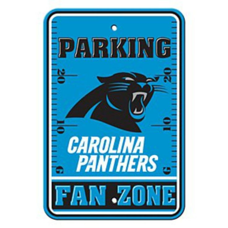 carolina panthers fan zone sign from $12.5