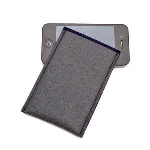 Custodia iPhone grey by Re Wrap