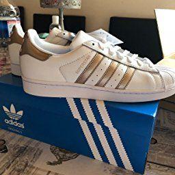 chaussures de séparation 12e66 4c967 adidas Superstar W, Chaussures de Fitness Femme, Blanc ...