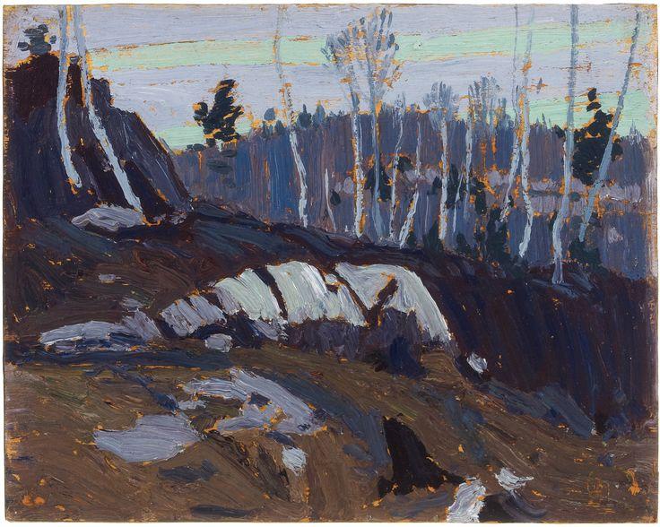 Tom Thomson Catalogue Raisonné   Nocturne, Spring 1916 (1916.47)   Catalogue entry