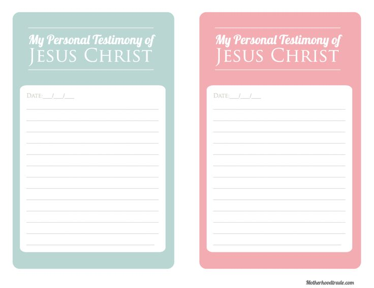 YW Lesson: Why is Jesus Christ important in my life? Object lesson and Free printable