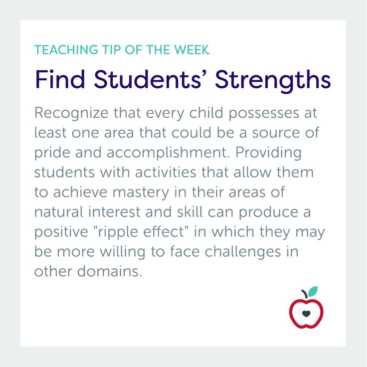 Teaching Tip of the Week: Find Students' Strengths  Get more ideas for getting to know your students at TeacherVision!