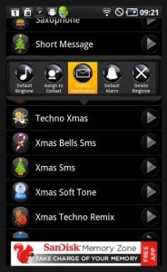 Christmas Ringtones Free Android App