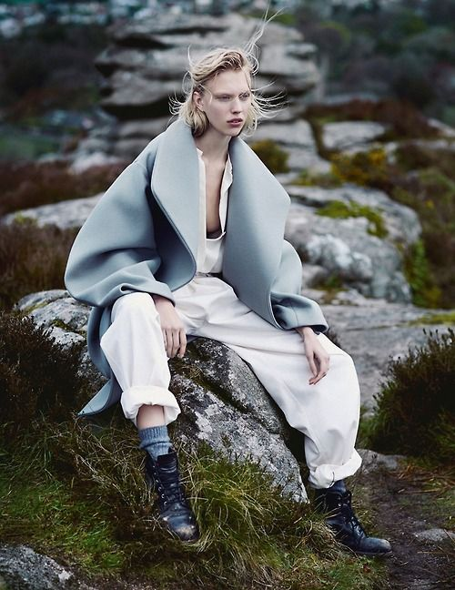 (via Juliana Schurig Wears Androgynous Style for Emma Tempest in Vogue Russia Spread)