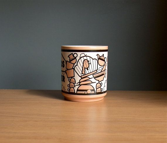 World's Best Mother Mug by Hornsea Pottery 1970s. by AnEyeOnStyle