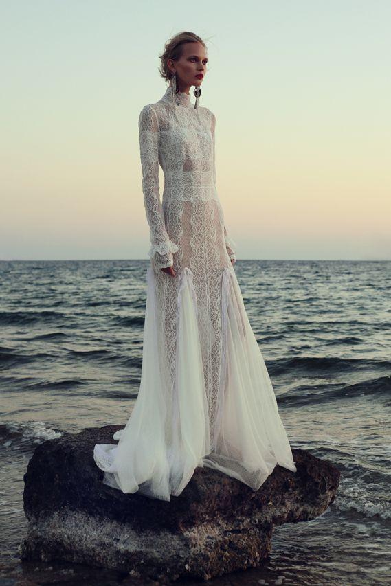 BR 1719 Dotted Swiss Victorian Gown #weddingdress #bridal2017 #costarellos #bridetobe #brides #lace #novia #abitodasposa #wedding