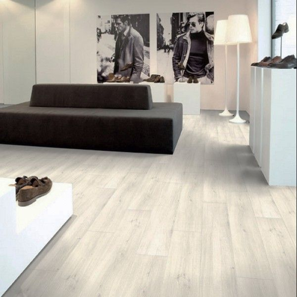 Aquastep Waterproof Laminate Flooring For Bathroom And Kitchen Beachhouse  Oak V Groove