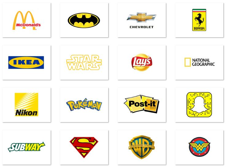 Top 20 famous logos designed in Yellow: Round up of some of the famous brands…