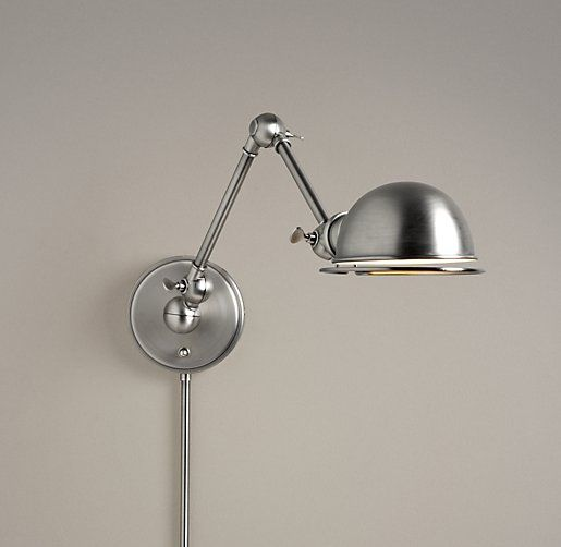 RH Baby Childs Academy Task Swing Arm Sconce