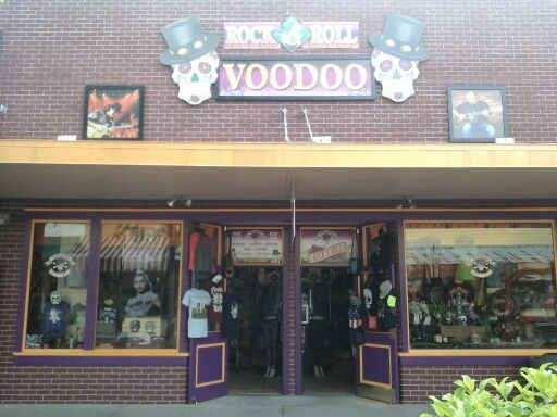 rock n roll voodoo shop sister shop of groovy in old town kissimmee florida heavy t shirts. Black Bedroom Furniture Sets. Home Design Ideas