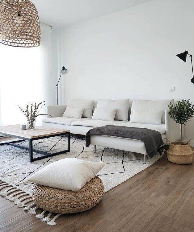 Washable Rug Bereber Beige Scandinavianlivingroom In 2020 Farm House Living Room Home Living Room Living Room Designs #washable #living #room #rug