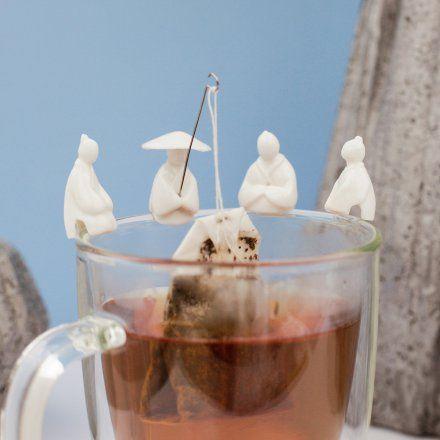 Teebeutel-Halter Jiang Taigong 4er Set von Kikkerland jetzt im design3000.de Shop kaufen! In der chinesischen Tradition gilt Tee als Kultgetränk ....