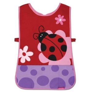 Stephen Joseph Ladybug Craft Apron Party Accessory by toyscraf  why do the kids always get to have fun?