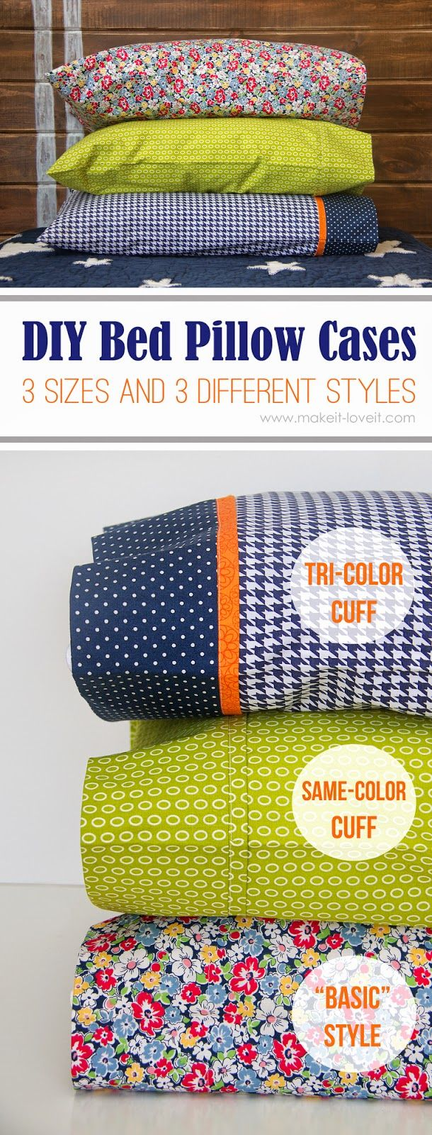 Easy Pillow Case Sewing Tutorial (Sew Pretty Sew Free)