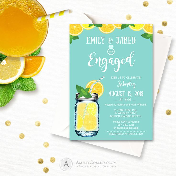 The 25 best Engagement invitation template ideas – Engagement Invite Templates